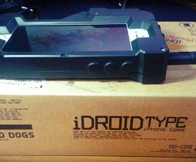 iDROID TYPE iPhone Case